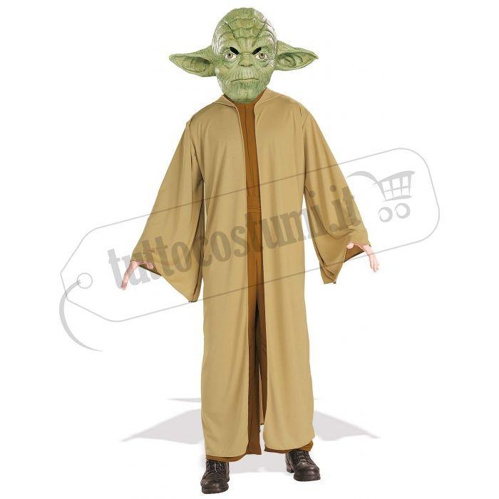 Costume da Yoda, potente maestro Jedi della saga di Guerre Stellari