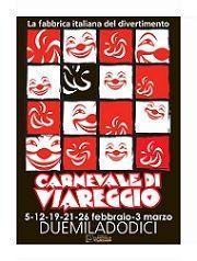 Manifesto Carnevale Viareggio 2012
