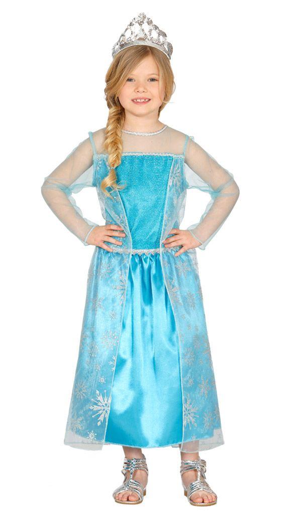 Costume carnevale: Regina delle nevi